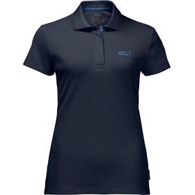 Jack Wolfskin Three Towers - T-shirt manches courtes Femme - bleu